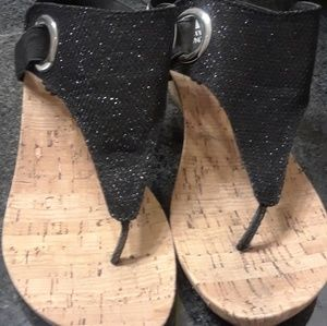 Brand new White Mountain cork sandals
